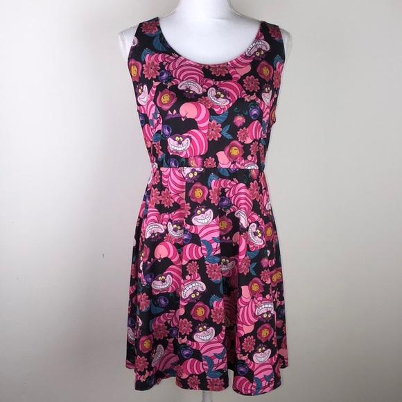 b15bcea6f Disney Dresses & Skirts - Disney XL Alice in Wonderland Cheshire Cat dress